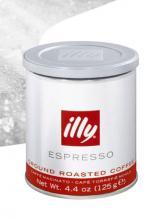 Кофе illy молотый 125 грамм